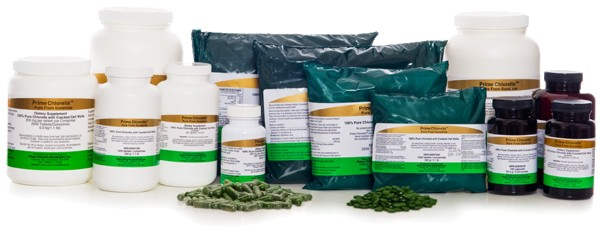 Chlorella Tablets, Capsules & Powder